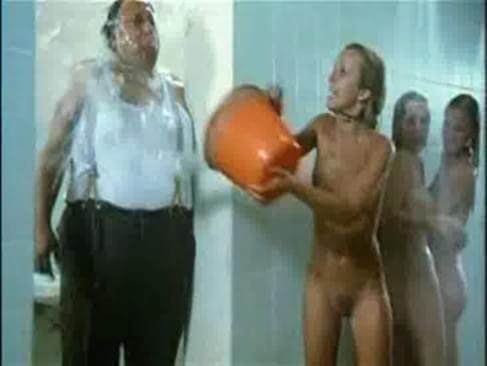 Nude schoolgirls shower