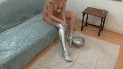 Body painting sex