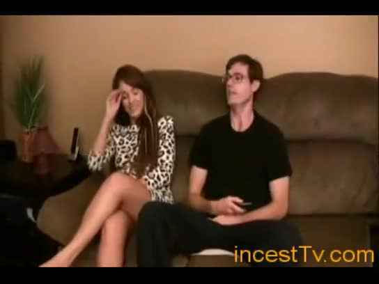 Sister begs brother to fuck