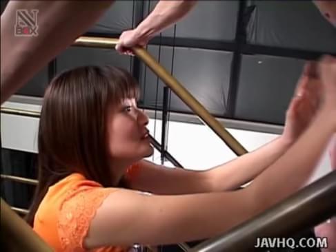 Horny karoi houjou hot group sex