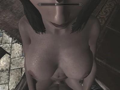 serana naked