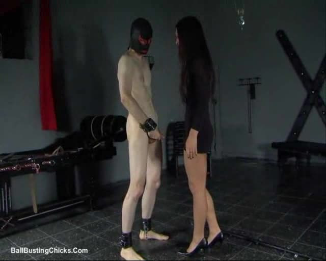 Giant strap on sex