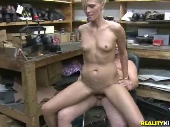 Milf sits on cock