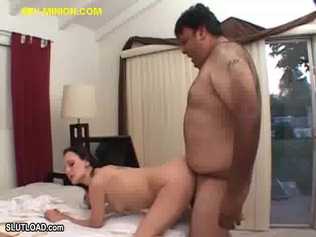 Having sex with a fat guy