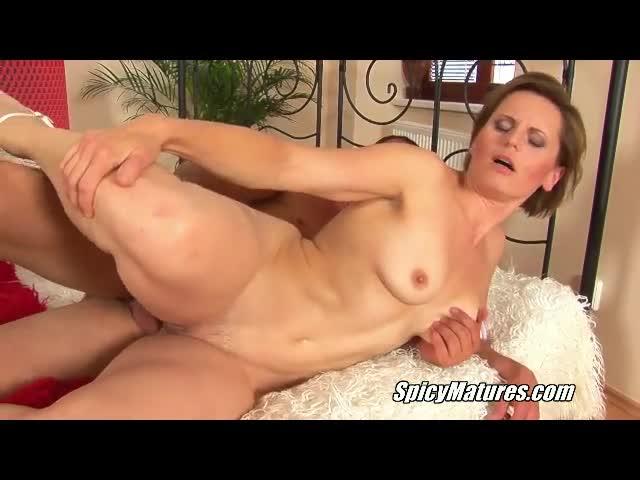 Amateur cocksucker big tits mature