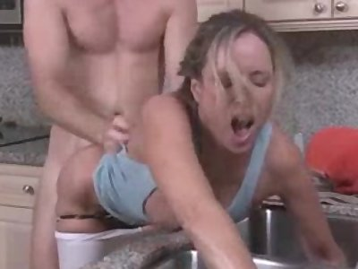 Stepmom son sex video