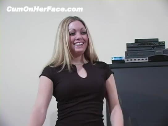 There something? cum on her face sonny agree