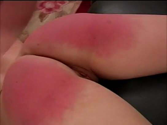Spanked ass deep throating