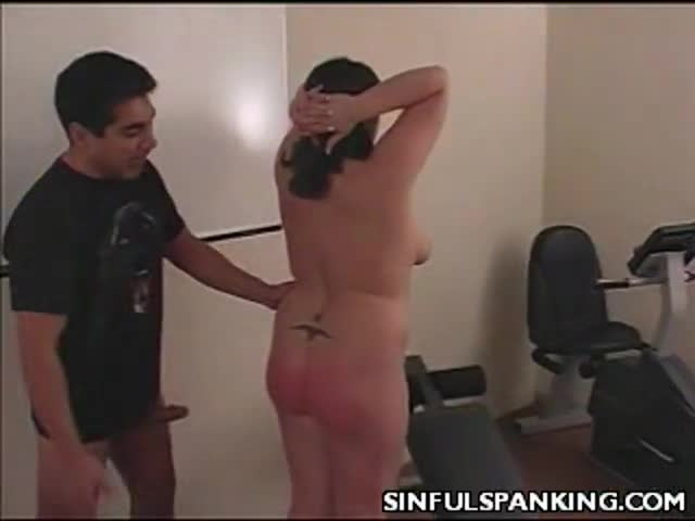 Spanking porn clips