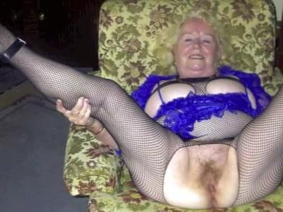 Granny sperm porn