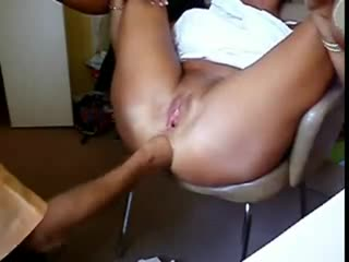 Granny fisting squirting
