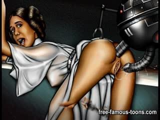 Animated star wars porn