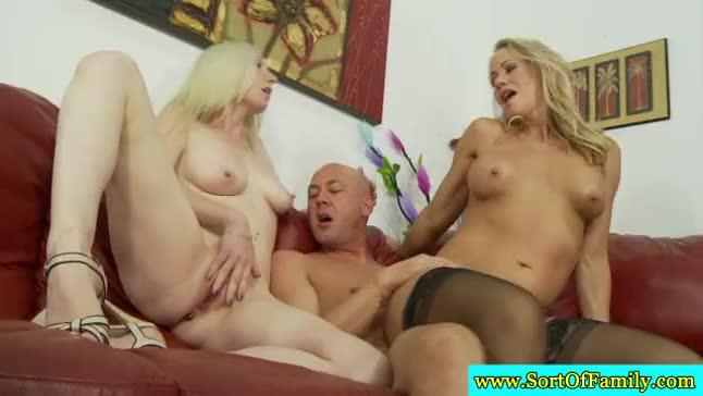 Mom milky tits