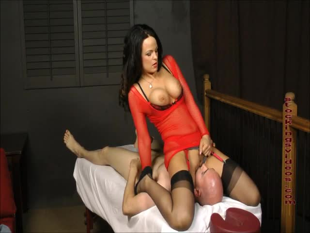 Slave bondage anal gag