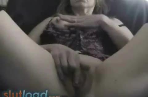 Girl jerks her cock