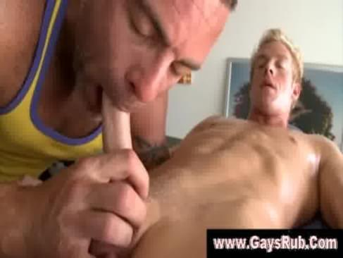 straight guy gets gay blowjob ...