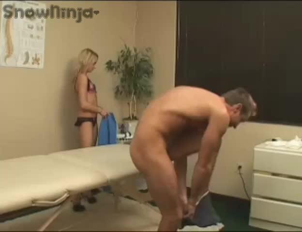 anal massage and handjob