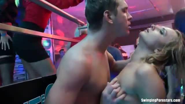 Strip club behind the scenes