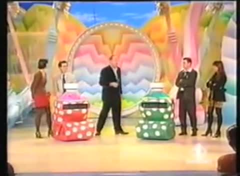 Italian tv strip game