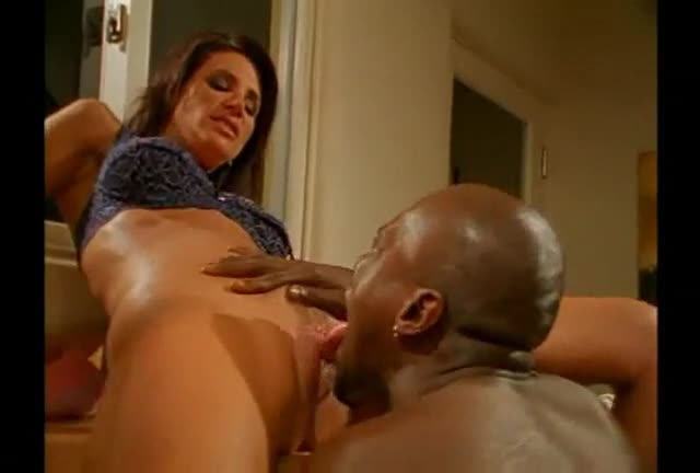 Milf with her black lover