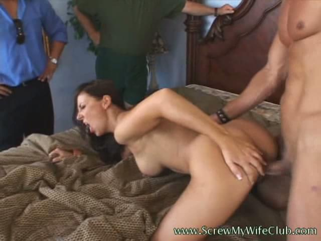From it. wife fucked in front of husbands