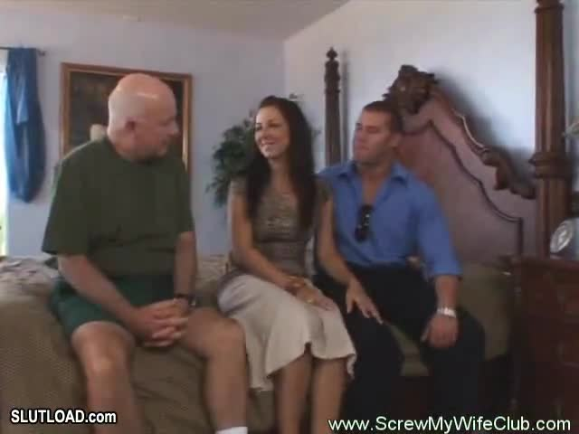 Swinging wife tied husband