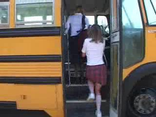 tabitha and madison : school bus girls #1