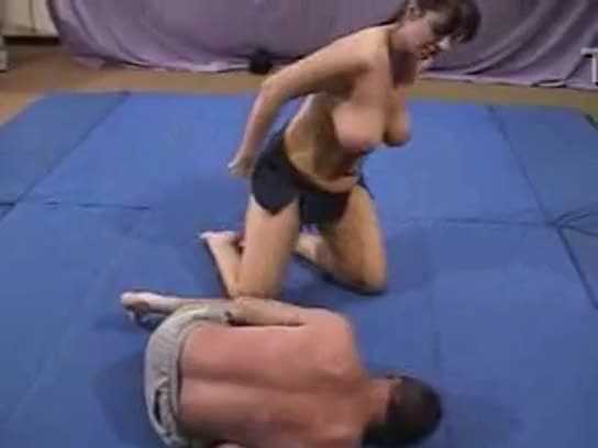 Wild Hardcore Interracial Coed Wrestling