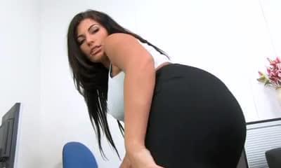 Sheer black bikini panties