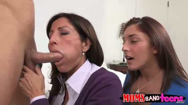 Skinny mom big tits anal porn