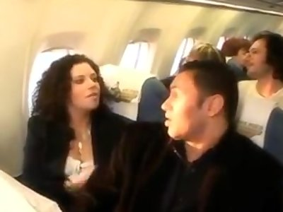 Tarra white sex on a plane