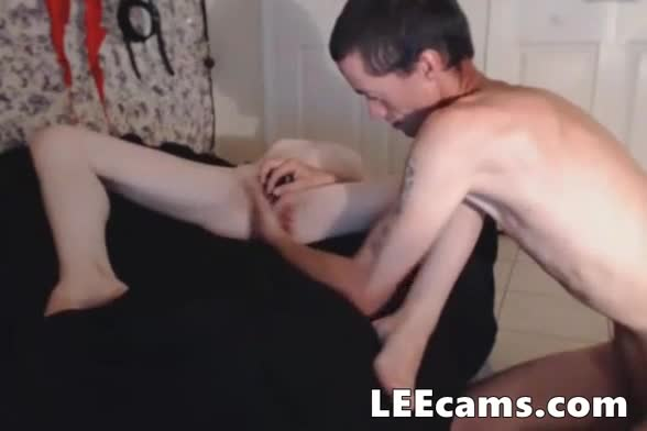 Teen Couple Play For Money