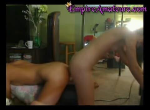 Big Tits Ebony Teen With Glasses Blowjob