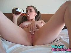 Play With Pussy Drunk Teen 50