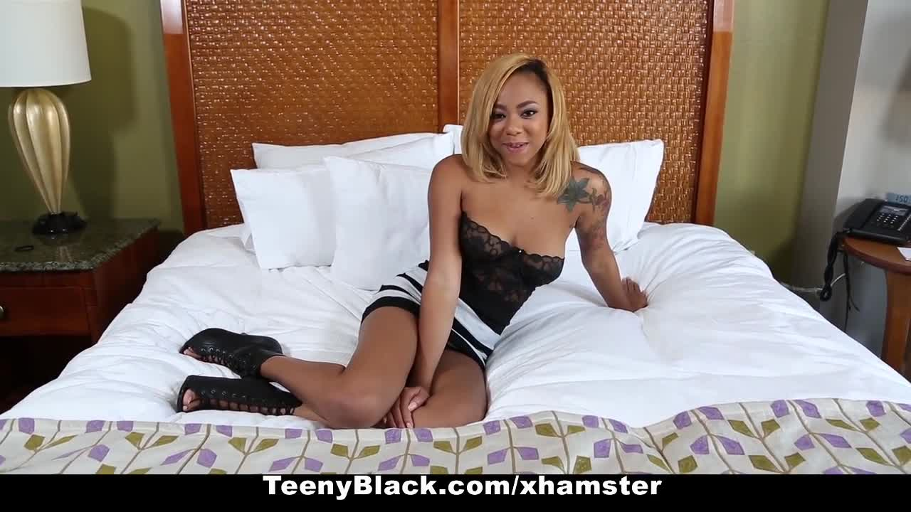 Ebony surprise creampie