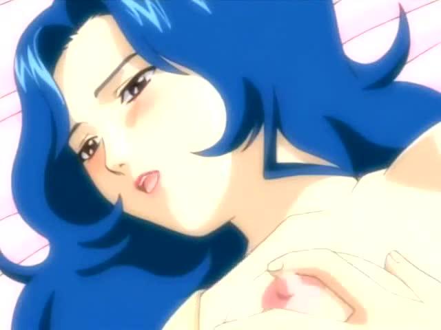 Tender Lesbian Hentai Babes Have Strapon Sex