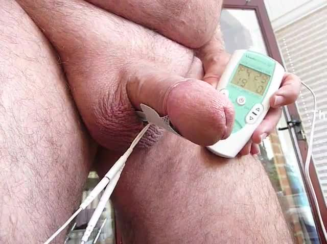 Pussy tens unit cock