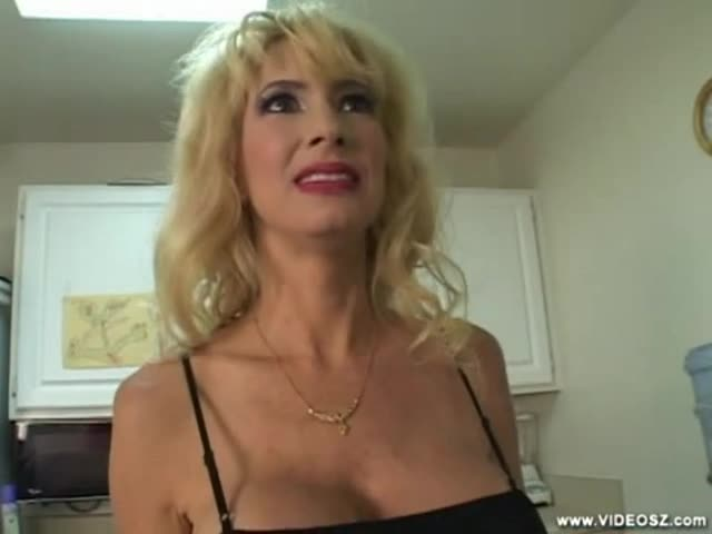 Hot milf with big fake tits 1