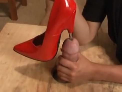 into penis videos higheel insertion
