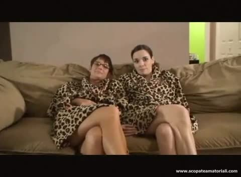 Mmf bisexual threesome on couch