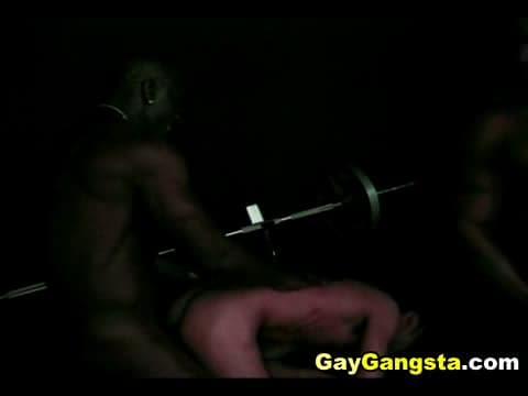 Black studs ass fucking action