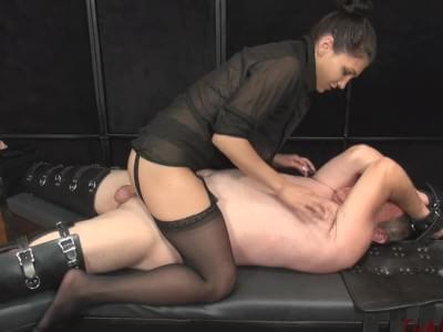 tickled and blow job
