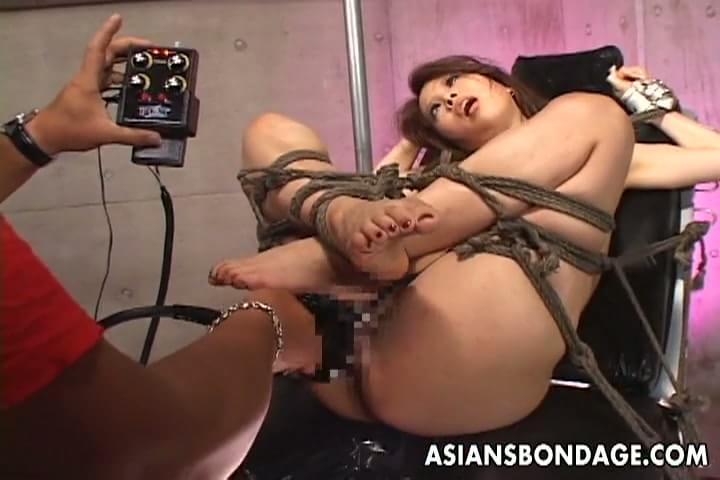 Tied up sex machine something is