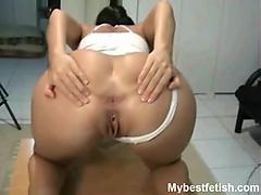 tiffany anal worship her thick butt. tiffany as the most beautiful round and ...