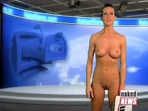 Nude tv anchorwoman