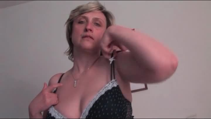 Busty anmater milf playing with her pussy