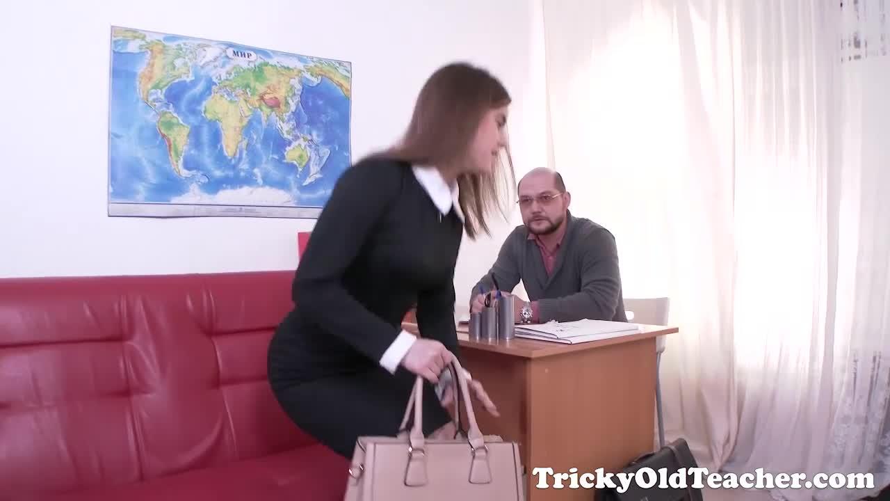 Tricky old teacher english teacher - 1 7