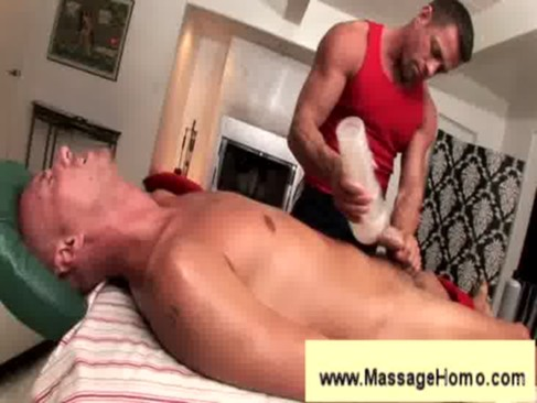 troy michaels gives blowjob to masseuse   Exploited Black Teens
