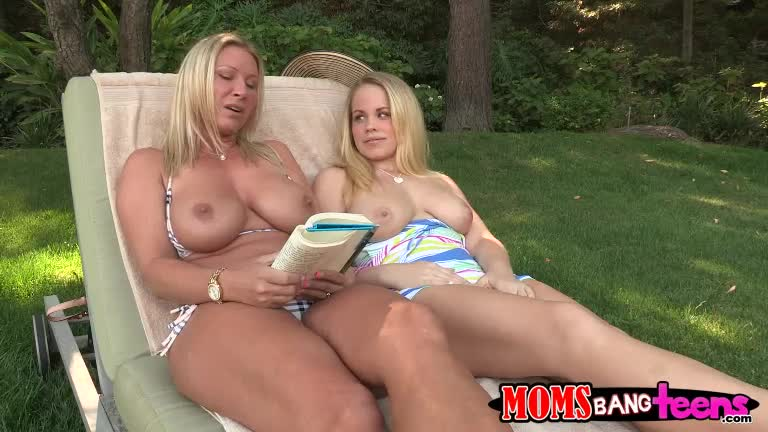 Busty blondes devon lee and britney tag teamed pleasing cock