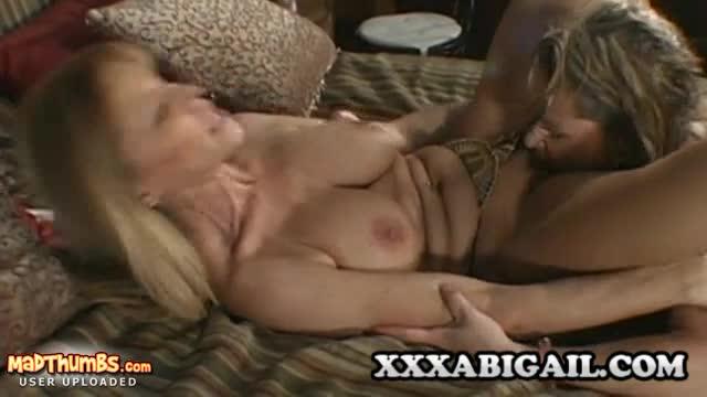 Nude wife in backyard